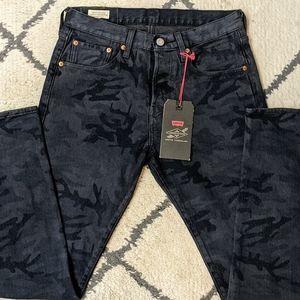 NWT Levi's Justin Timberlake 501 Slim Taper Jeans